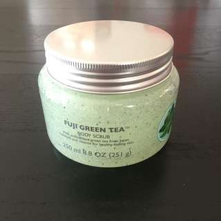 Body Shop Fuji Green Tea Body Scrub