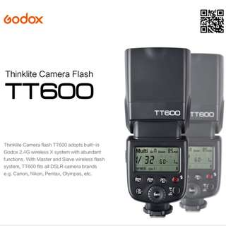 Godox Speedlite Flashes for Nikon Canon Sony Fuji Olympus Pentax
