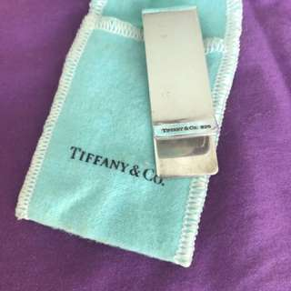 Tiffany 純銀money clip