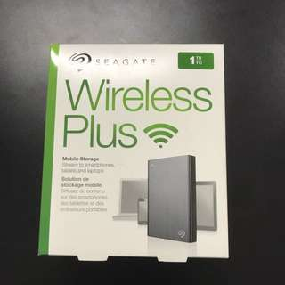 Seagate Wireless Hardisk - 1TB