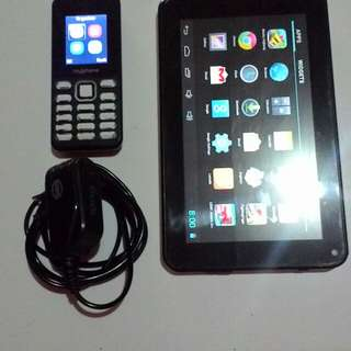 Coby Kyros Tablet w/ bundled Cellphone!