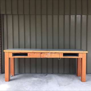 Hard Wood Bench Table