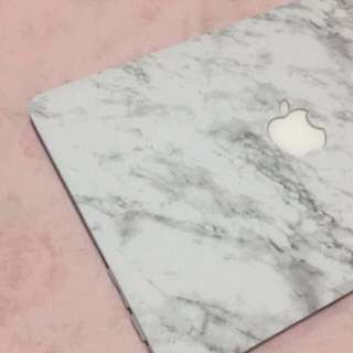 Marble Printed Hard Cover / Case For Macbook
