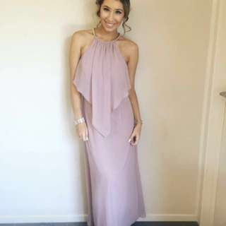 Pink/nude formal dress *hire* or *buy*