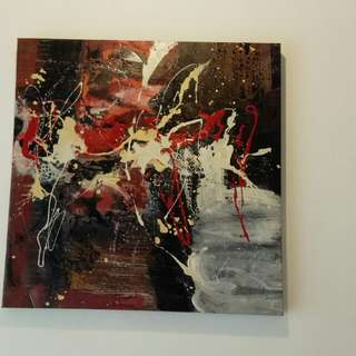 Oil paintings - abstract