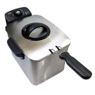 Adjustable Temperature Electric Deep Fryer Pan 2000W