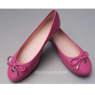 New!Kate Spade New York Pink Ballet Flats Authentic RRP$289