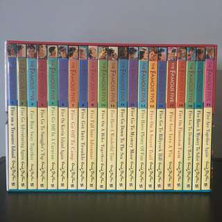 FAMOUS FIVE Complete 12 Book Box Set by Enid Blyton | Children's Classics
