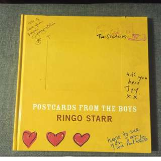 Beatles - Ringo Starr - Postcards from the Boys
