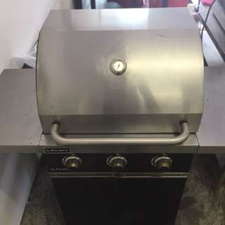 3 gas stove bbq pit