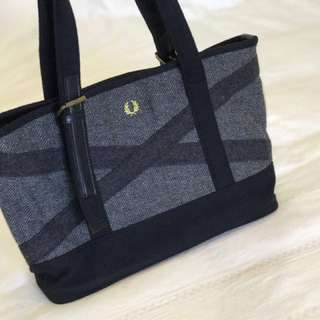 Authentic Fred Perry tote bag