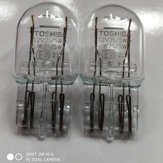 T20 12v 21/5w Double wire one pair