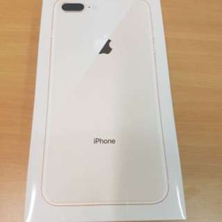 Apple iPhone 8 Plus - 256gb-Gold and Silver