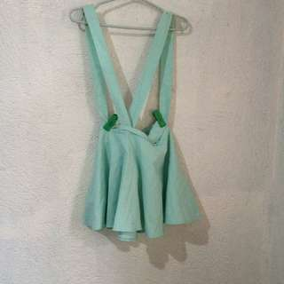 Mint jumper skirt