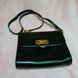 Vintage Ferragamo Shoulder Bag