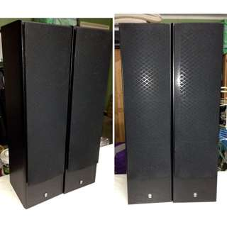 YAMAHA NS-50F Standing Main Speakers (1x Pair) Surround sound + Wires