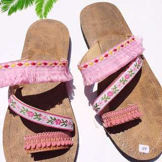 Boho Sling Sandal 7B