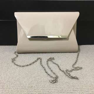 Light beige small clutch/bag