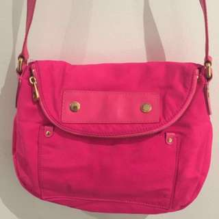Marc By Marc Jacobs Preppy Nylon Natasha Crossbody Bag (pink)