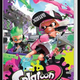 Splatoon 2 Game for Nintendo Switch for sale