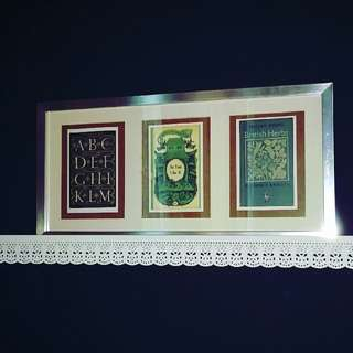 Vintage Book Cover Postcards