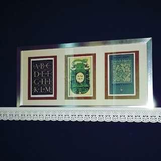 Vintage Book Cover Postcards