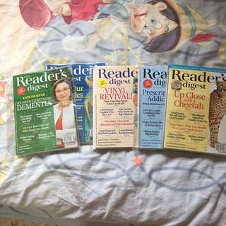 Reader Digest (Feb to July 2017)