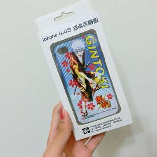 iphone4 4s 手機殼 銀魂