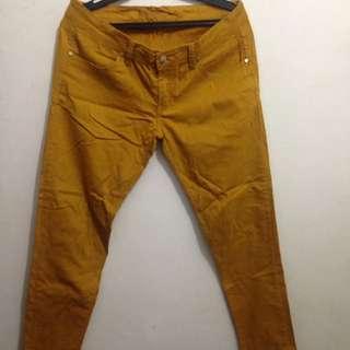 Malehstick Mustard Pants (Size 32)