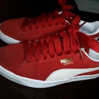Puma Suede - Red