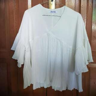 Blouse White Chocochips
