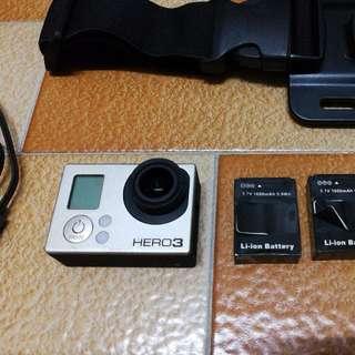 GoPro Hero3 black and accessories