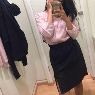 Pink Blouse Baju Kerja Wanita