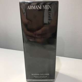 New Armani Men Master Cleaner 150ml