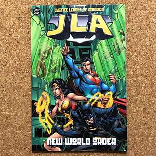 Justice League Of America JLA - New World Order