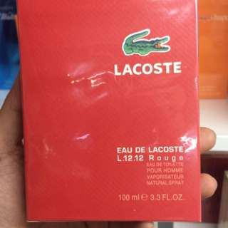 Lacoste US tester
