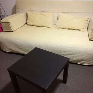 Sofa bed & table
