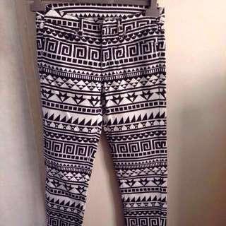 H&M Aztec Pants