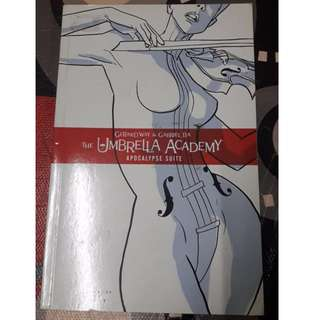 KOMIK The Umbrella Academy by Gerard Way  (Author), Gabriel Ba (Illustrator) ORIGINAL COMIC