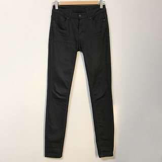 ZARA 黑色牛仔褲