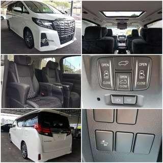 2015 Toyota Alphard 2.5 SC Unreg