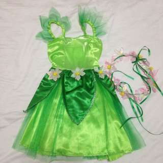 Green Woodland Fairy / Tinkerbell Costume