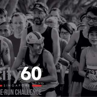 City60 Run-Bike Duathlon (7km-46km-7km)