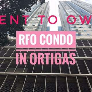 Rent to Own Condo in Ortigas