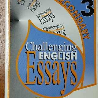 Challenging Sec 3 Essays