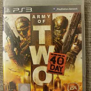 PS3 Army of Two (The 40th Day)
