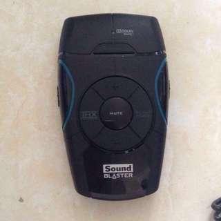 Creative Sound Blaster external soundcard