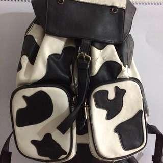 Tas moschino cow / sapi plentong gendong #sss
