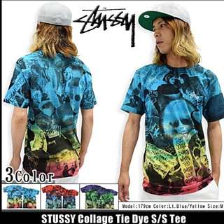 Stussy渲染漸層上衣