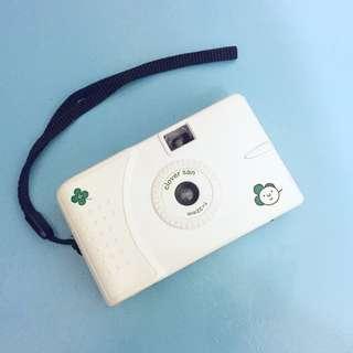 純白幸運草clover san底片相機